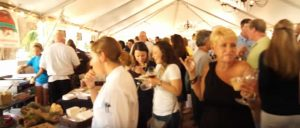 people at the St. Simons Food and Spirits festival
