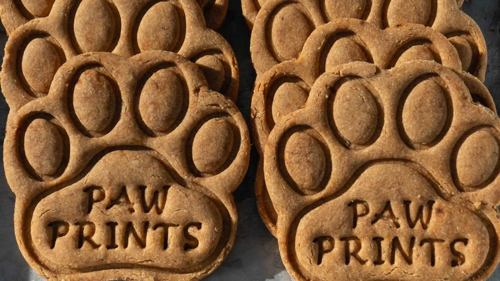 Paw Print Doggy Cookies