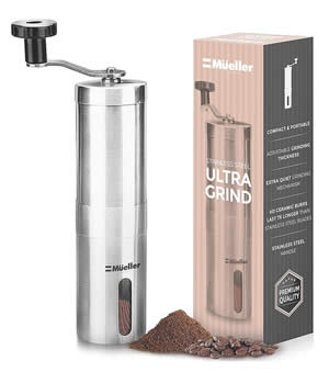 Coffee grinder hand