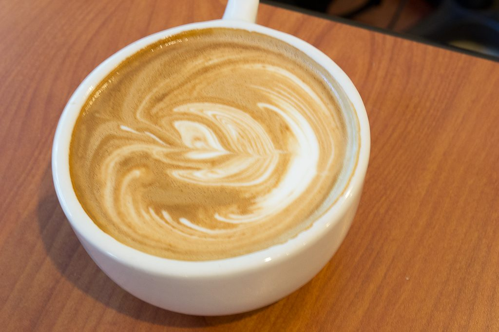 Latte Art at Aurora Coffee