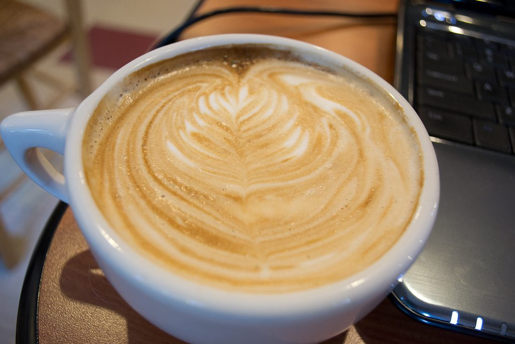 Coffee Art at Aurora Coffee