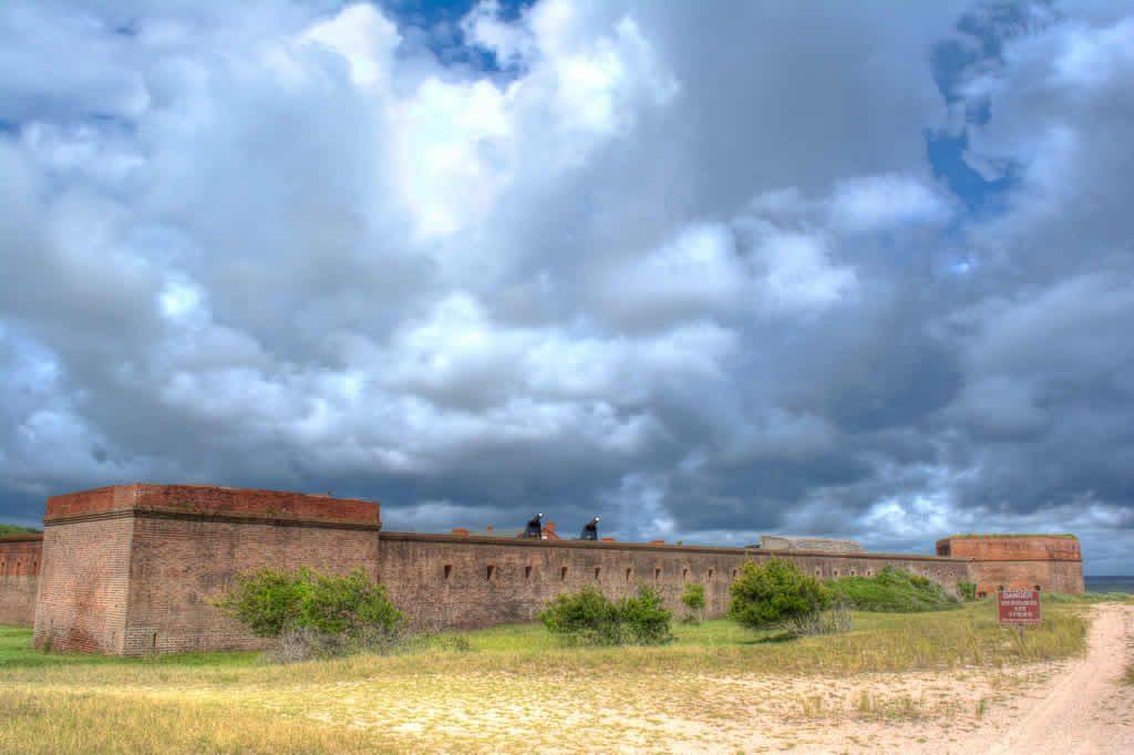 Walls at Fort Clinch