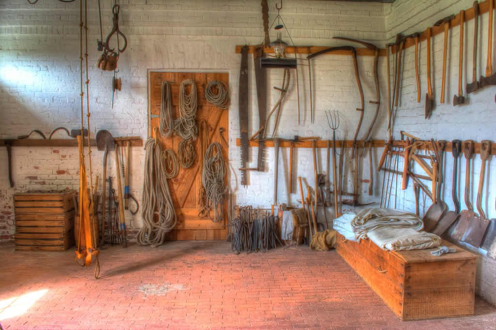 Tool Shed at Fort Clinch
