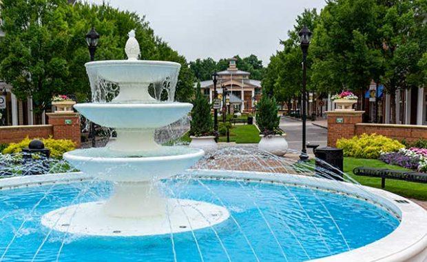 Fountain at Smyrna Village