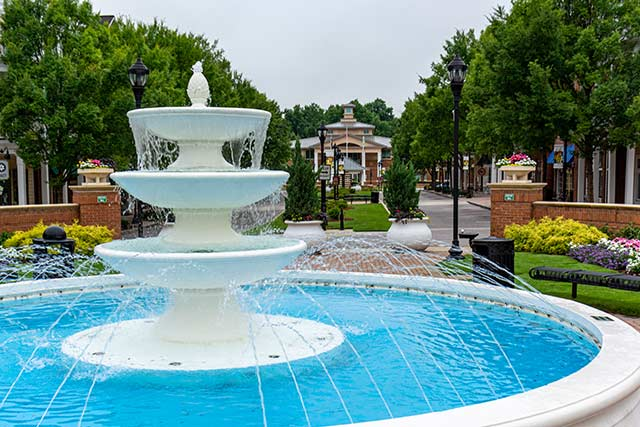 Fountain at Smyrna Village