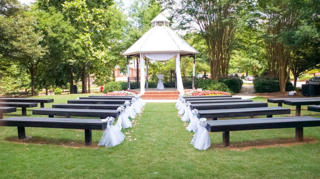 Smyrna wedding gazebo