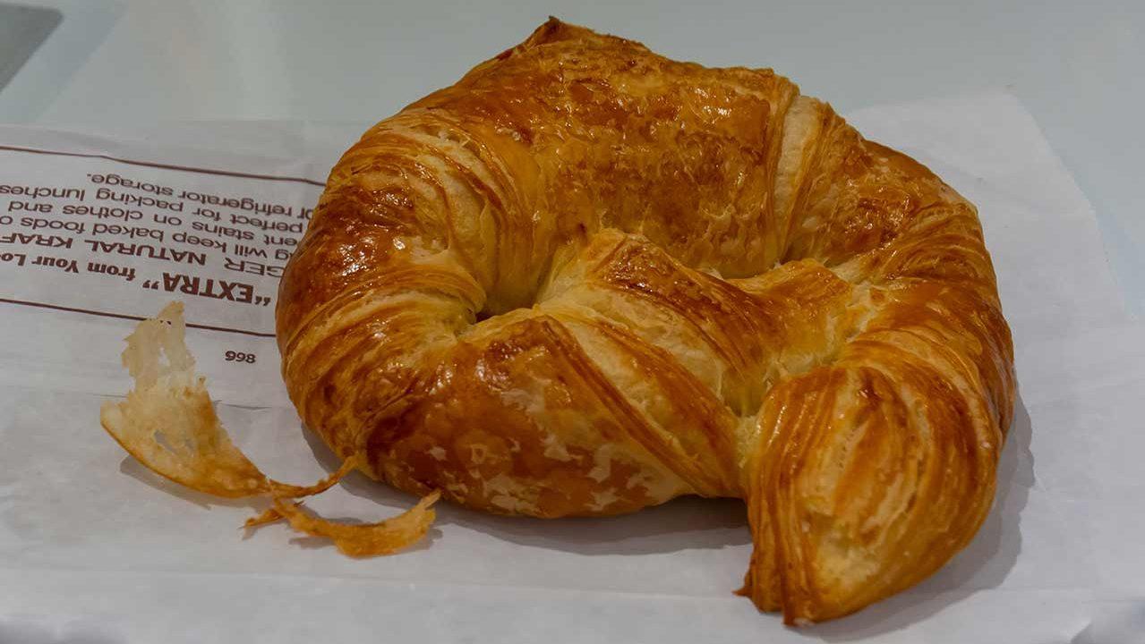 Croissant from Douceur de France